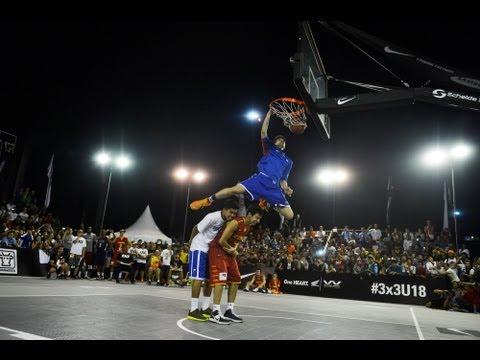 HONDA DUNK CONTEST - w/ Kobe Paras (Philippines) - 2013 FIBA #3x3U18 Jakarta