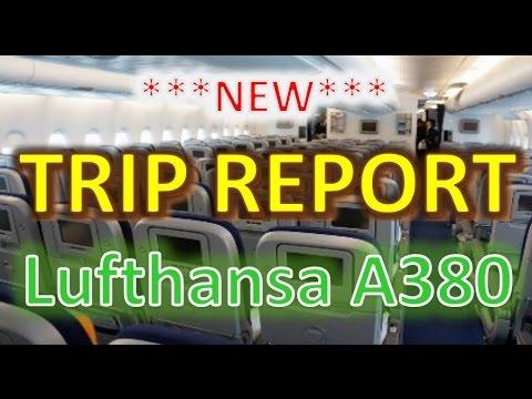 ***NEW***: Lufthansa A380 | SFO-FRA | Economy class | [TRIP REPORT]