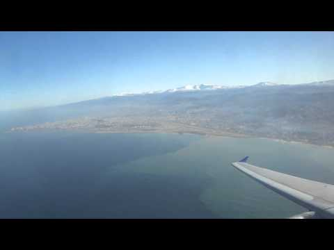 Cyprus Airways A319 takes off from Beirut Airport to Larnaca