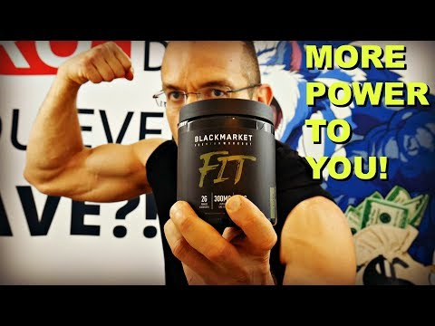 BlackMarket Labs  FIT Review | The Athletes Pre Workout?