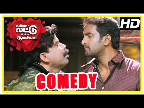 Kanna Laddu Thinna Aasaiya Comedy Scenes | Part 3 | Santhanam | Powerstar Srinivasan | VTV Ganesh