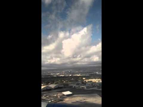 Landing in Honolulu