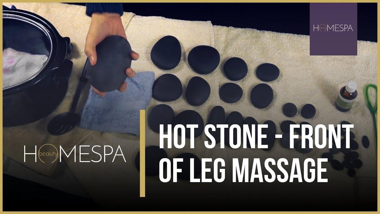 self massage guide legs