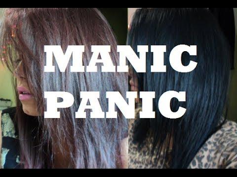 How To: Manic Panic on Dark Hair ♥
