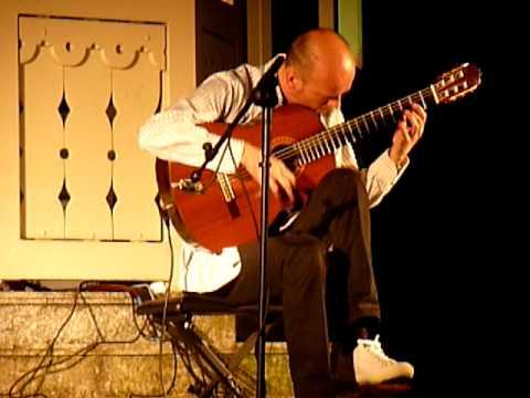Guitar-Virtuoso Klaus Jäckle plays Gaspar Sanz: Espalonetas-Canarios