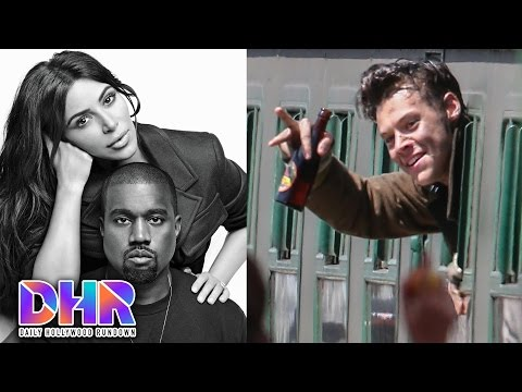 Kanye Shades Taylor Swift AGAIN - Harry Styles DIRTY Set Photos (DHR)