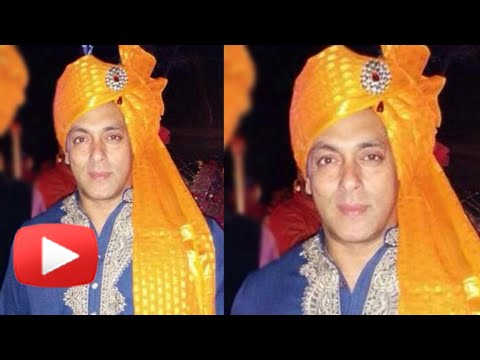 Salman Khan Turns Dulha In Pulkit Samrat's Wedding | Salman Khan Marriage