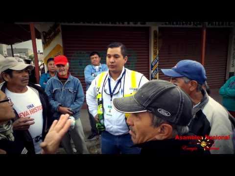 CONTRATISTAS DE LA CFE QUERIENDO CAMBIAR EL COBRE
