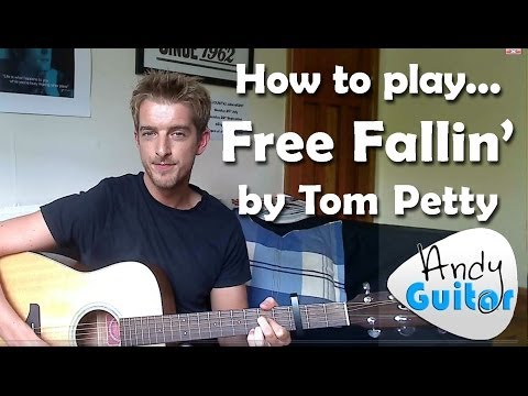 EASY 3 chord song #3 Free Fallin' by Tom Petty/ John Mayer | 10 songs with 3 Chords!