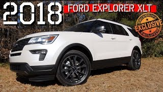 🔵 NEW 2018 FORD Explorer XLT REVIEW - 1st Look at Exterior & Interior @ Ravenel Ford