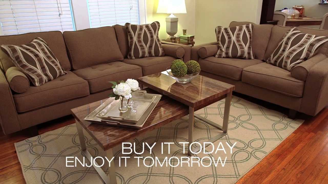 Next day delivery from ashley furniture homestore youtube for Furniture 7 day delivery