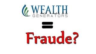 La verdad sobre Wealth Generators ¿Fraude? forex.