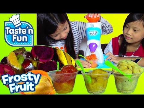 Taste 'n Fun Frosty Fruit Playset Make Your Own Sorbet - Kids' Toys