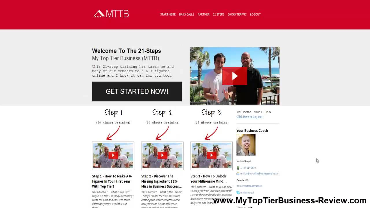 My top tier business quot mttb quot review honest mttb system review here