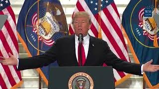 LIVE: Trump announces shrinking of national monuments | Monday, 4 December 2017