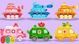 Lắp Ráp Xe Tank, Xe Cứu Thương - Ambulance | Cars & Trucks Vehicles Ver 1.0 | TopKidsGames (TKG) 371