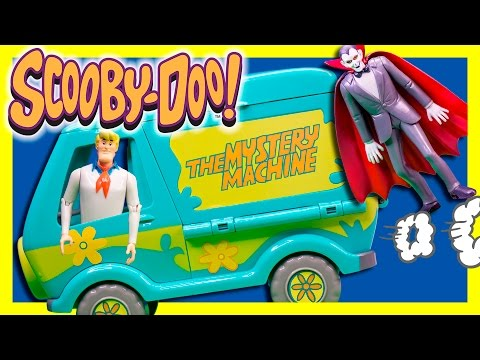 SCOOBY DOO! Cartoon Funny Mystery Machine Playset Huge Adventure Video Toys Review