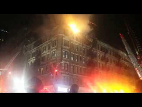 FDNY Chief Drops F Bomb Over Radio Duing 3 Alarm Blaze