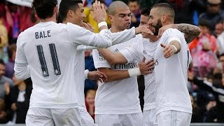 Getafe 1-5 Real Madrid Goles Audio Cope 16/04/16 LIGA BBVA