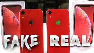 iPhone (XR) FAKE vs REAL (Español)