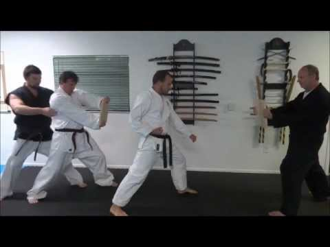 Karate Board Breaking - Tameshiwara - Instructor Christian Jolicoeur - Atarashi Chito Ryu Image 1