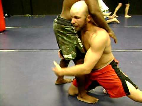 Double Leg Takedown for MMA, Wrestling, or Brazilian Jiu-Jitsu Image 1