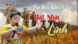 Thần Đồng Bolero 6 Tuổi Quốc Huy Hát Nhạc Lính Hải Ngoại Cực Hay
