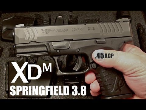 Xdm 3.8 Review ▶ Springfield Xdm 3.8 45acp