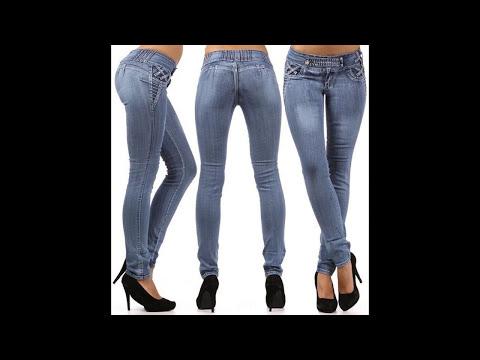 Pantalón Jeans de moda Colombianos.