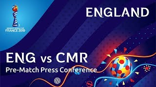 ENG v. CMR - England Pre-Match Press Conference