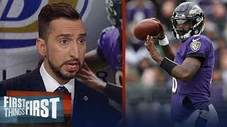 Right now Ravens are the best team in the AFC after win over Texans | NFL | FIRST THINGS FIRST