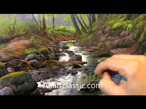 Youtube Oil Paint Over Acrylic