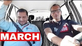 Nissan March 2018 [En Vivo] Exterior Interior Prueba 0-100 Subcompacto