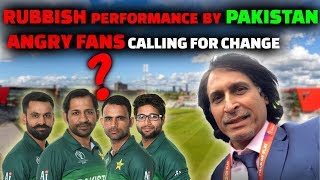 Rubbish Performance By Pakistan   Angry Fans Demand A Change   Pak vs Ind