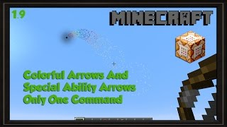 Useful Bows Only One Command 1.9 Minecraft