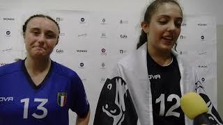 W17 EHF Championship - Interviews ITA - AZE 35-26