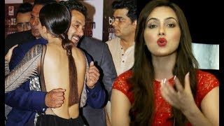 download lagu Sana Khan Angry Reaction On Salman Khan Awkward Hug gratis