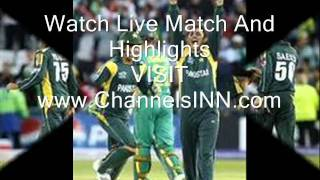 Live Cricket Match Pakistan vs South africa Live 2010