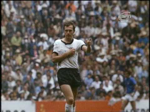 Franz Beckenbauer - 1966, 1970, 1974  FIFA World Cup Classic Players