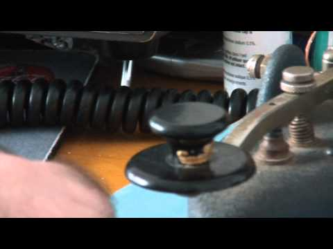 Amateur Radio Demo: Using CW