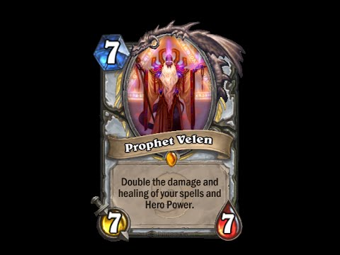 Prophet Velen - Hearthstone Text   Message   Alert Tones (links In Description) video