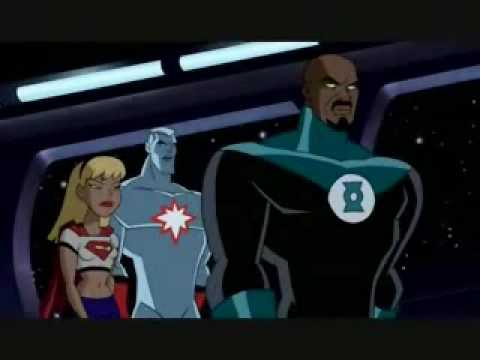 Captain Atom on Justice League Unlimited