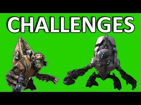 � Halo: Reach Challenges - Kill 200 Grunts in 2 Min with DMR
