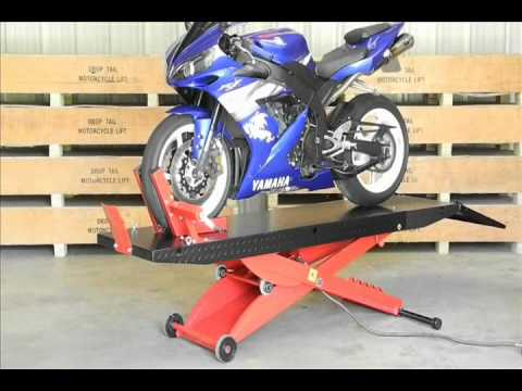 Redline Engineering 1.000 lb Drop Tail Motorcycle Lift Table