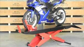 Redline Engineering 1,000 lb Drop Tail Motorcycle Lift Table