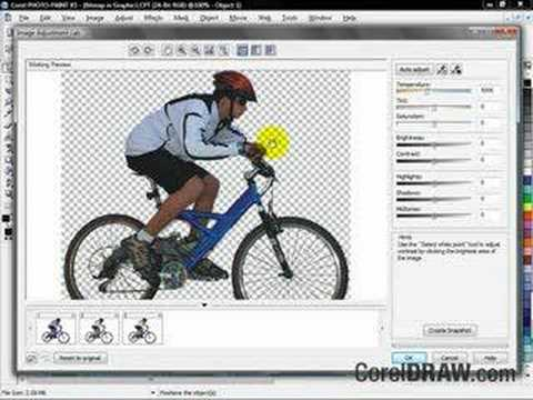 CorelDRAW X3 Image Adjustment Lab overview