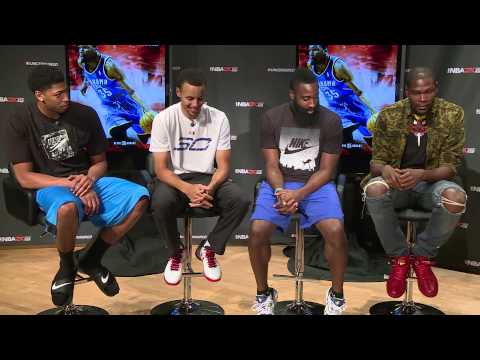 NBA2K Uncensored Kevin Durant Talks About Meeting Stephen Curry