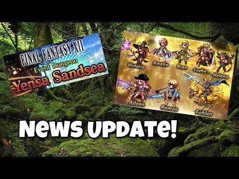 [FFBE] Best Tank + Ramza & Aileen's Awakening News Update!!