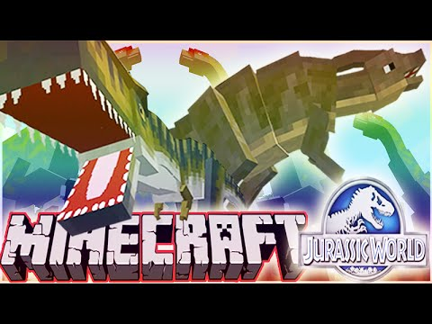MineCraft Jurassic World RolePlay How To Train Your Dino Ep.3