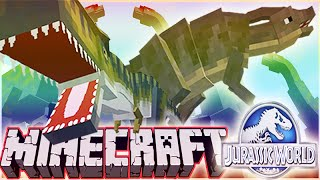 "MineCraft Jurassic World ""RolePlay"" How To Train Your Dino Ep.3"